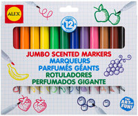 Alex 12 Jumbo Scented Markers - 1 ct.