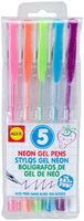 Alex 5 Neon Gel Pens - 1 ct.