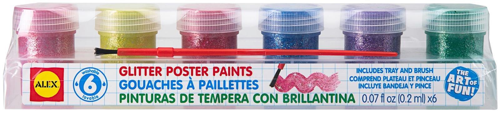 Alex 6 Glitter Paints - 1 ct.