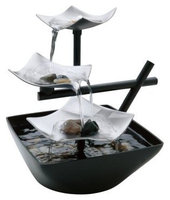 HoMedics - EnviraScape Silver Springs Illuminated Relaxation Fountain WFL-SLVS