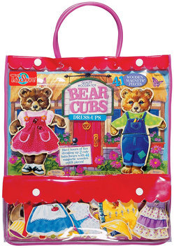 T.S. Shure Bear Cubs Wooden Magnetic Dress-Up Dolls - 1 ct.