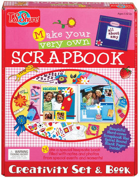 T.S. Shure Make Your Very Own Scrapbook Creativity Set & Book