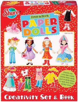 Shure Dress & Stick Paper Dolls Kit