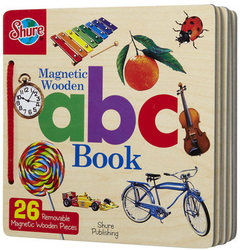 T.s. Shure Magnetic Wooden ABC Book