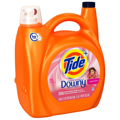Tide Plus A Touch of Downy April Fresh High Efficiency Liquid Laundry