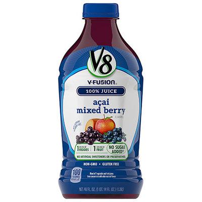 V8® V-Fusion 100% Acai Mixed Berry Vegetable & Fruit Blends