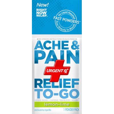 UrgentRx® Ache & Pain Relief to Go Powders