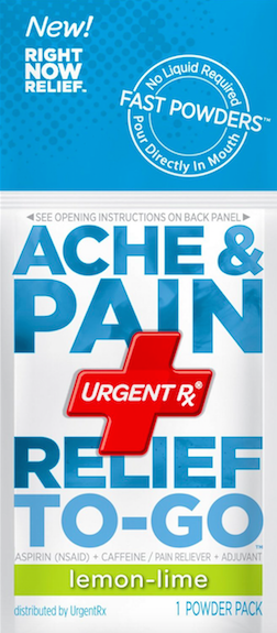 UrgentRx® Ache & Pain Relief to Go Powders