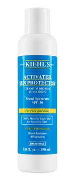 Kiehl's Activated Sun Protector 100% Mineral Sunscreen SPF 50