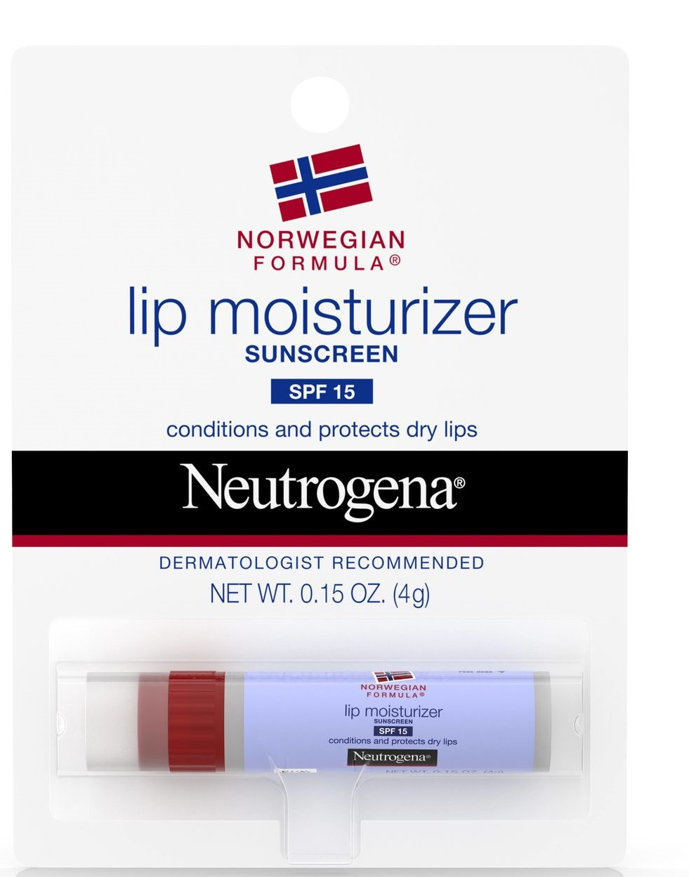 Neutrogena® Norwegian Formula® Lip Moisturizer with Sunscreen SPF 15