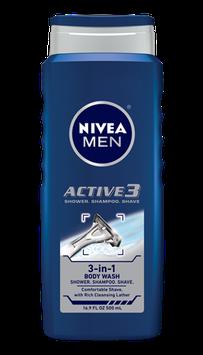 NIVEA® MEN Active 3 Body Wash