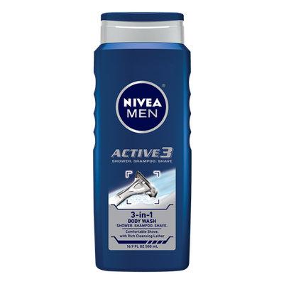 NIVEA Active 3 Body Wash