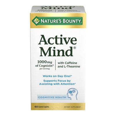 NATURE'S BOUNTY® Active Mind®