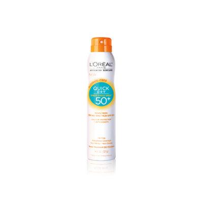 L'Oréal Paris Advanced Suncare Quick Dry Sheer Finish Spray 50+