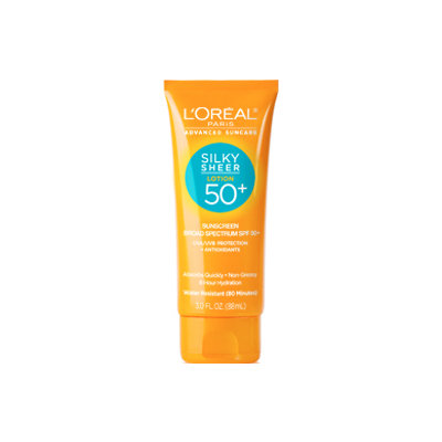 L'Oréal Paris Advanced Suncare Silky Sheer Lotion 50+