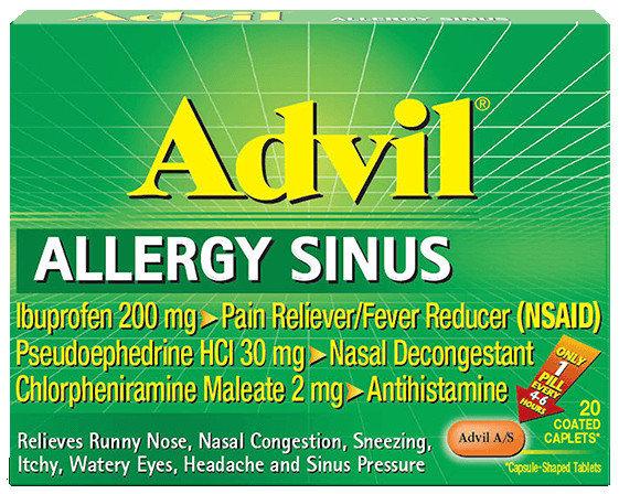 Advil® Allergy Sinus