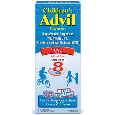 Advil® Children's Suspension Blue Raspberry