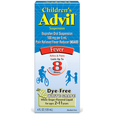 Advil® Children's Suspension White Grape
