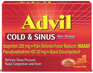 Advil® Cold & Sinus