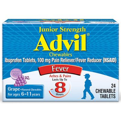 Advil® Junior Strength Chewables Tablets Grape
