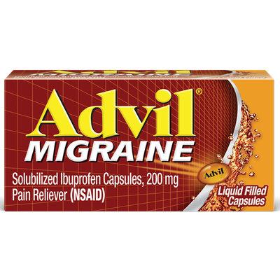 Advil® Migraine Liquid Filled Capsules