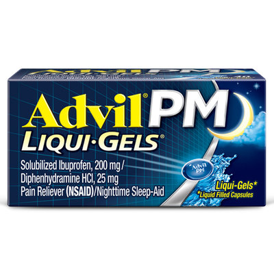 Advil® PM Liqui-Gels Capsulea