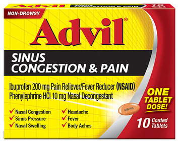 Advil® Sinus Congestion & Pain