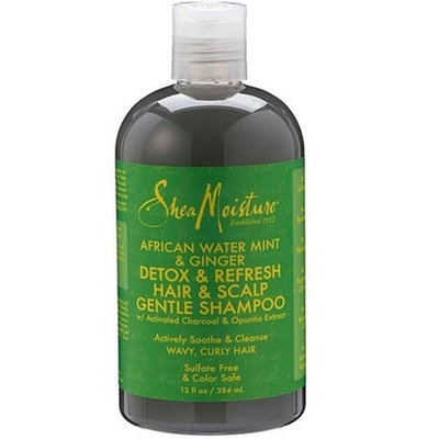 SheaMoisture African Water Mint & Ginger Detox Hair & Scalp Gentle Shampoo