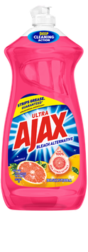 Ajax® Ultra Bleach Alternative Grapefruit Dish Liquid