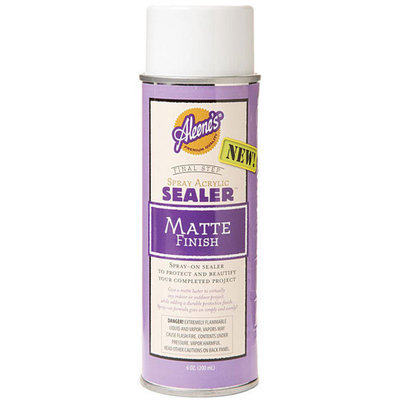 Duncan Aleene's Acrylic Sealer Spray 6 Ounces-Matte