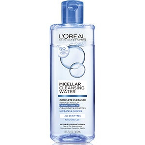Slide: L'Oréal Paris Micellar Cleansing Water Complete Cleanser Waterproof - All Skin Types