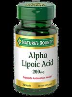 NATURE'S BOUNTY® Alpha Lipoic Acid