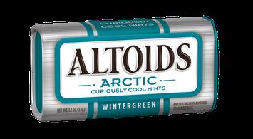 Altoids Arctic Curiously Cool Sugar Free Wintergreen Mints