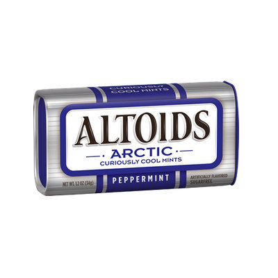 Altoids Arctic Curiously Cool Sugar Free Peppermint Mints