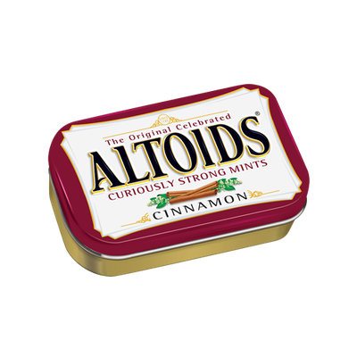 Altoids Curiously Strong Cinnamon Mints