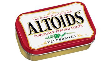Altoids Curiously Strong Peppermint Mints
