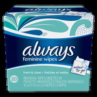 Always Fresh & Clean Wipes-To-Go