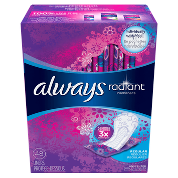 Always Radiant Daily Liners