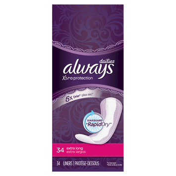 Always Xtra Protection Daily Liners Extra Long