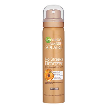 Garnier Ambre Solaire No Streaks Bronzer Self-Tanning Dry Face Mist