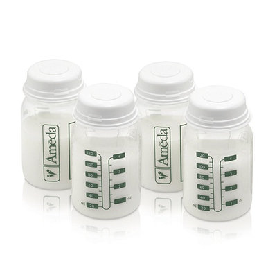 Ameda Breast Milk Storage Bottles