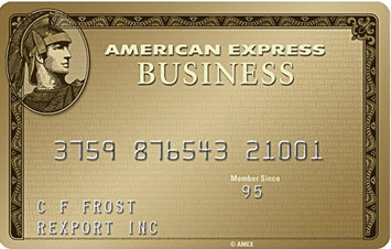American Express Business Gold Rewards Credit Card