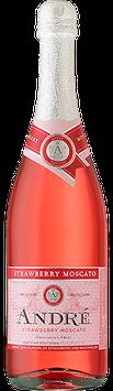 André Strawberry Moscato California Champagne
