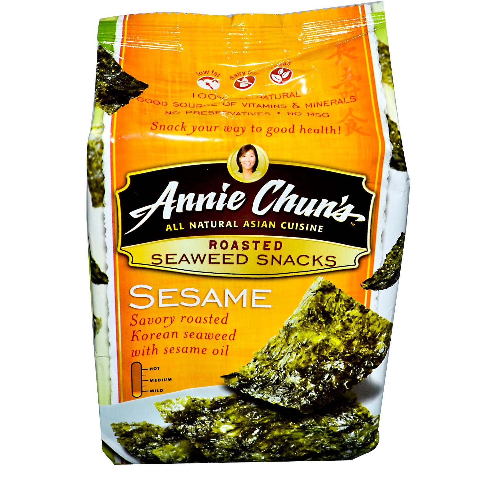 Annie Chun's Seaweed Snacks Roasted Sesame