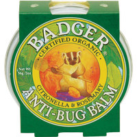 Badger Balm Anti-Bug Balm Tins - Natural Mosquito Repellent