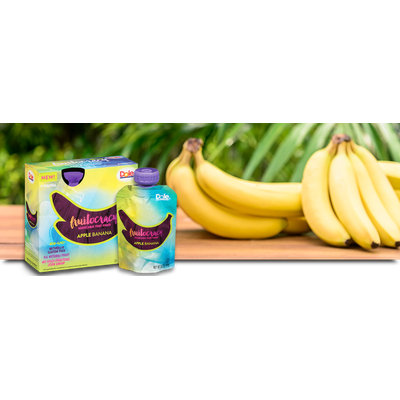 Dole Fruitocracy Apple Banana Squeezable Fruit Pouch