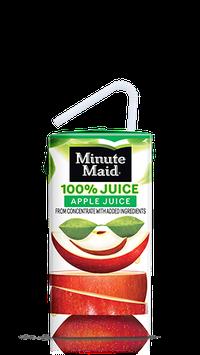 Minute Maid® 100% Apple Juice Box