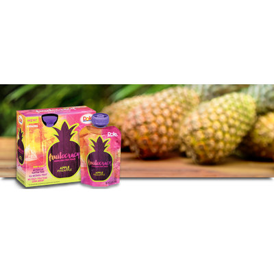 Dole Apple Pineapple Fruitocracy Squish'em Squeeze Pouches