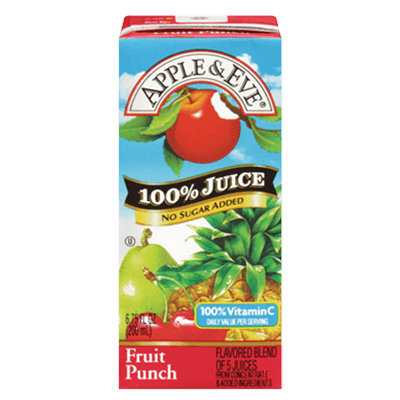 Apple & Eve® Fruit Punch 100% Juice