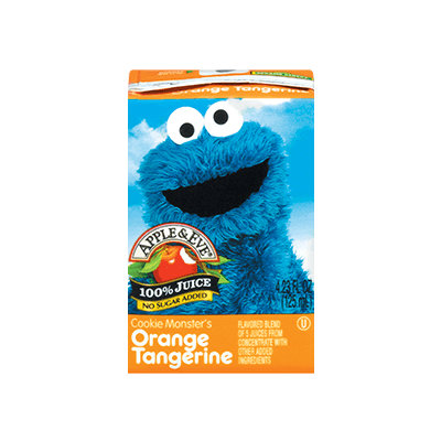 Apple & Eve® Sesame Street Cookie Monster's Orange Tangerine